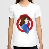 agent carter T-shirts featuring Agent Carter by fabulosaurus