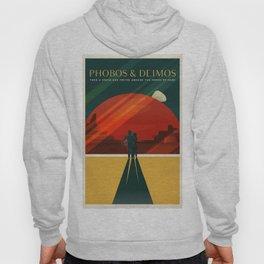 Vintage Adventure Travel Phobos and Deimos Hoody