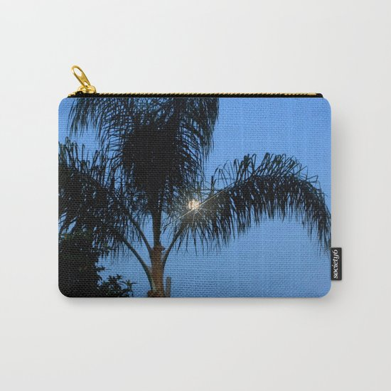 Moonlight through the Palms, Southern California Carry-All Pouch