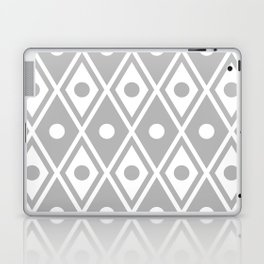 Harlequin Pattern Grey Laptop & iPad Skin