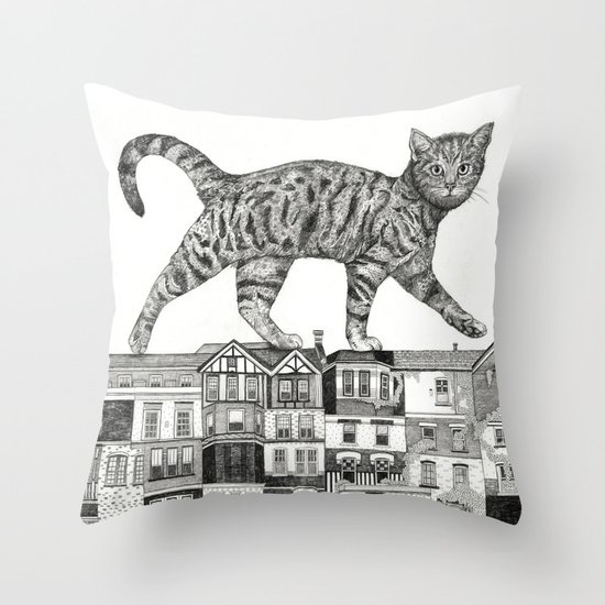 ZEITGEIST Throw Pillow