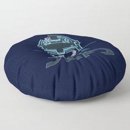 Tron Of The Dead Floor Pillow