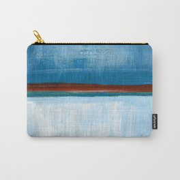 March Abstract Six Carry-All Pouch