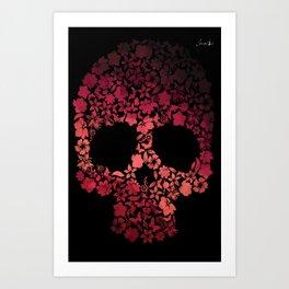 Pirate of roses phone colors urban fashion culture Jacob's 1968 Agency Paris Art Print
