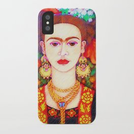 My other Frida Kahlo with butterflies iPhone Case