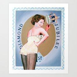 Jubilee Cheesecake Art Print
