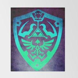 Zelda Shield Throw Blanket