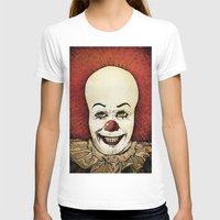 pennywise T-shirts featuring It - Pennywise (Color Version) by Sinpiggyhead