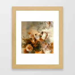 FLORAL PATTERN20 Framed Art Print