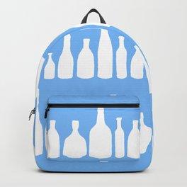 Bottles Blue Backpack