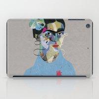 frida iPad Cases featuring Frida by Zaneta Antosik