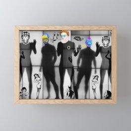 Body Language 75 Framed Mini Art Print