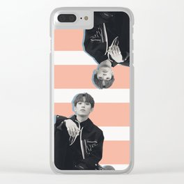 Double Deeks Clear iPhone Case