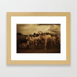 Ethiopia 5 Framed Art Print