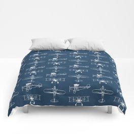 Biplanes // Navy Comforters
