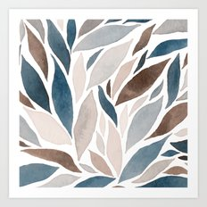 abstract 101 Art Print