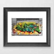 As One graf piece  Framed Art Print