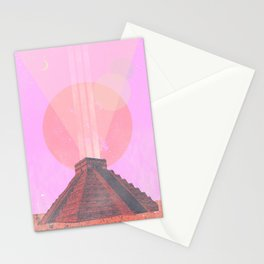 MAYAN TEMPLE II Stationery Cards