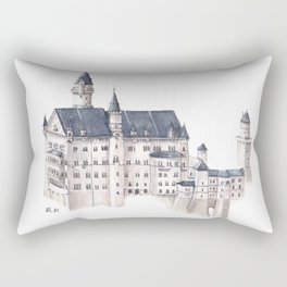 Neuschwanstein Castle Rectangular Pillow