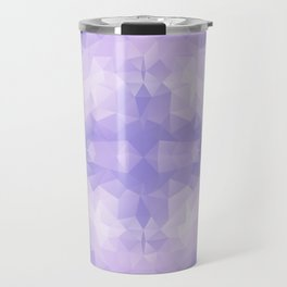 Light purple geometric design Travel Mug