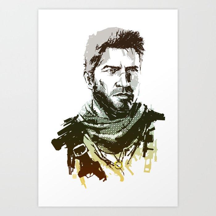 NEW Uncharted 3 Art Print