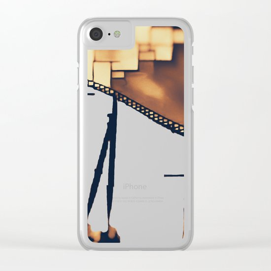 Roller Coaster Clear iPhone Case