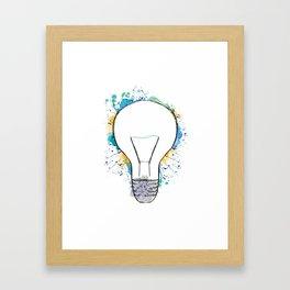 Inspire Light Framed Art Print
