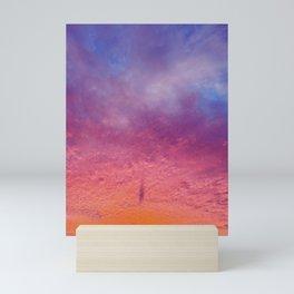Sherbet Sunset  Mini Art Print