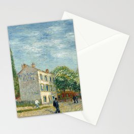 The Restaurant Rispal in Asnières Stationery Cards