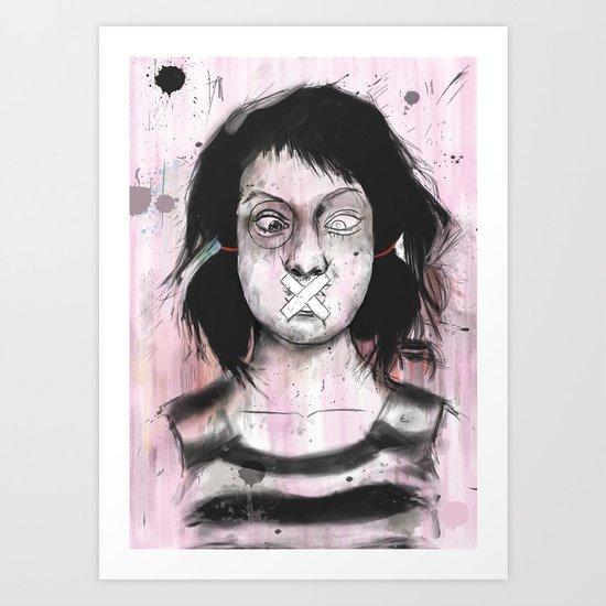 Secret Art Print