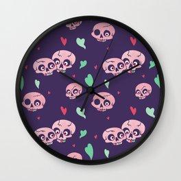 Funny Bone Feelings pattern Wall Clock
