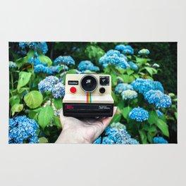 Vintage Instant Camera Rug