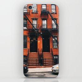 Brooklyn Walkup iPhone Skin