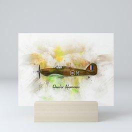 Hawker Hurricane Mini Art Print