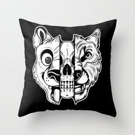 Fursuiters Throw Pillow