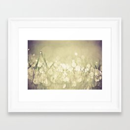 morning dew no.3 Framed Art Print