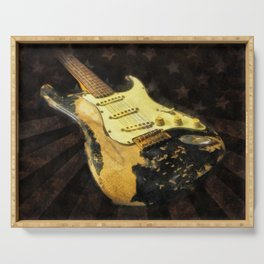 My AMERICAN RELIC STRATOCASTER® Custom Shop Serving Tray