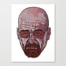 Mister White Canvas Print