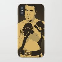 ali iPhone & iPod Cases featuring Ali by Renan Lacerda