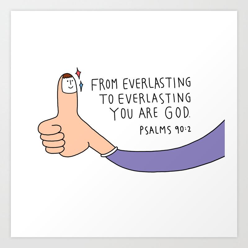bible message mugcup Art Print