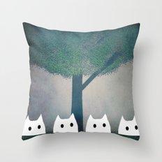 cat-185 Throw Pillow