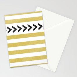 ARROW STRIPE {MUSTARD} Stationery Cards