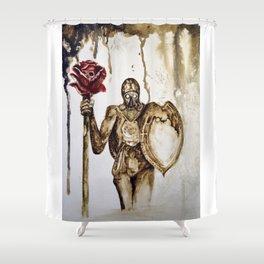 Rose death Shower Curtain