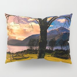 Soft Evening in the Lake Pillow Sham