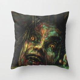 Evil Dead Throw Pillow