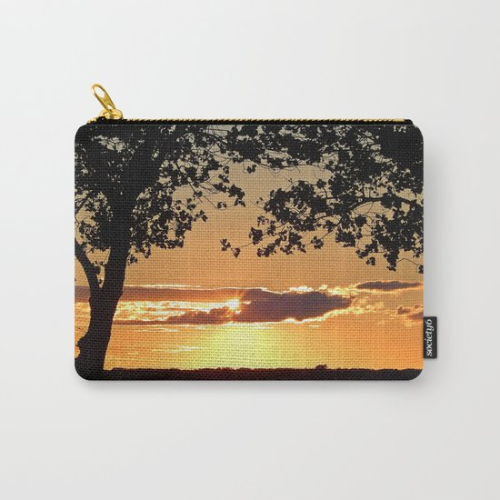 Sunset on Summerside Carry-All Pouch