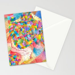 Clusters 3 Stationery Cards