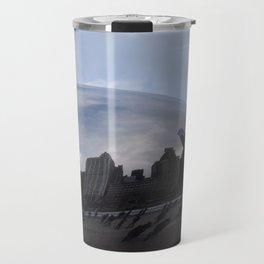 Cloud gate at Chicago Travel Mug