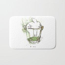 Coffee Face 01 Bath Mat