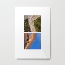 CURVES OF LOS ANGELES Metal Print